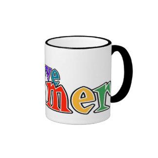 love summer ringer coffee mug