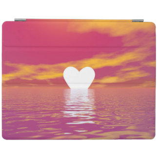 Love sunset - 3D render iPad Cover
