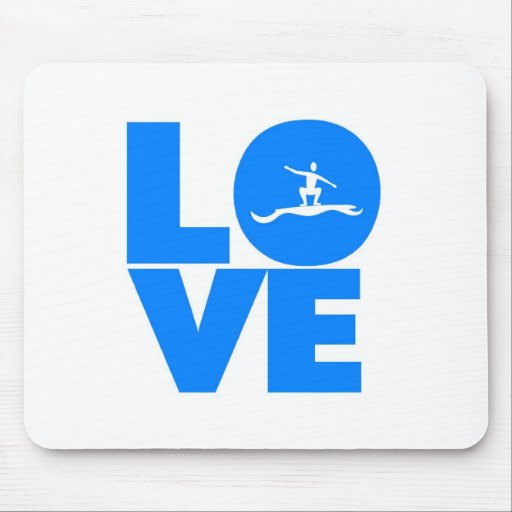 Love surfing mouse mats