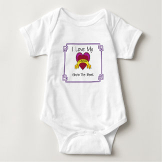 Love Surgeon Shes the Best Baby Bodysuit