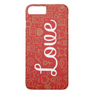 Love Surrounded by Hearts   Phone Case