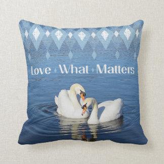 Love Swans Pillow