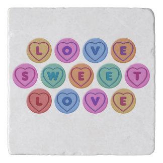 Love Sweet Love Trivet