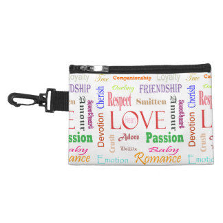 Love Synonyms by Shirley Taylor Accessory Bag