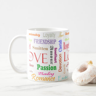 Love Synonyms by Shirley Taylor Coffee Mug