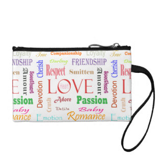 Love Synonyms by Shirley Taylor Coin Purse