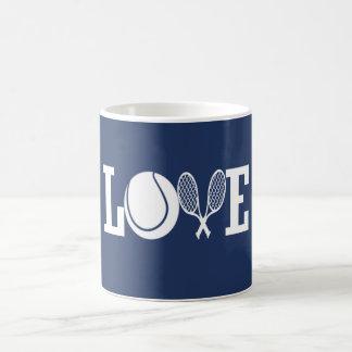 LOVE TENNIS COFFEE MUG