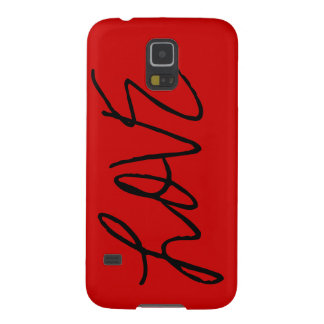 Love Text Customizable Colors Phone Case