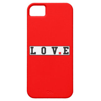 love text message emotion feeling red dot square iPhone 5 cases