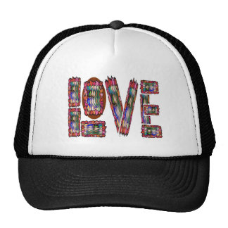 LOVE Text TEXT Quote Wisdom TEMPLATE add TXT IMG Mesh Hat