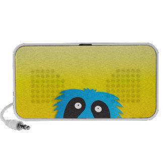 Love that monster blue cute! speakers