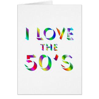 Love the 50's card