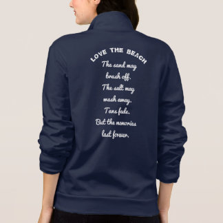 Love the Beach -- Beach lovers - jacket