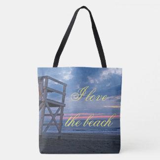 Love The Beach Tote Bag