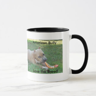 Love the Breed  *** American Bully Puppy Mug