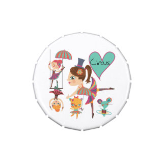 Love the Circus Candy Tin