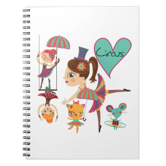 Love the Circus Notebook Journal