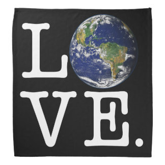 Love The Earth Bandana