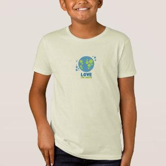 Love The Earth Organic Tshirt Kids