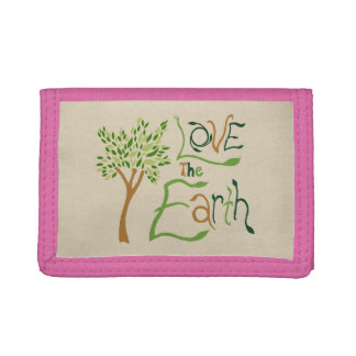 Love the Earth Pink Wallet