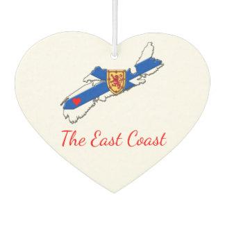 Love The East Coast Heart N.S. Air freshener