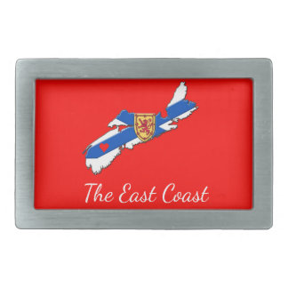 Love The East Coast Heart N.S. belt buckle red