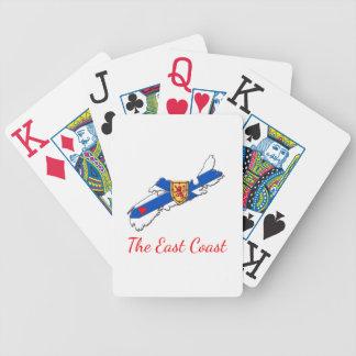 Love The East Coast Heart N.S. cards
