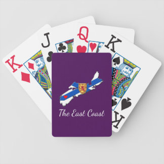 Love The East Coast Heart N.S. cards purple
