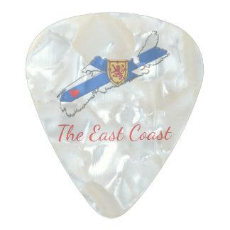 Love The East Coast Heart N.S. guitar pick