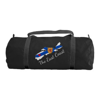 Love The East Coast Heart N.S. gym bag
