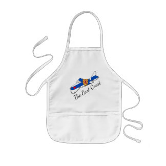 Love The East Coast Heart N.S. kids apron