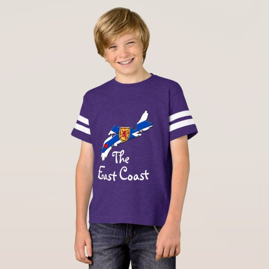 Love The East Coast  Heart Nova Scotia shirt