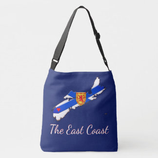 Love The East Coast  Nova Scotia Cross Bag