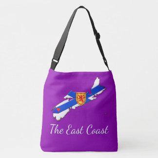 Love The East Coast  Nova Scotia Cross Bag purple