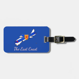Love The East Coast  Nova Scotia luggage tag