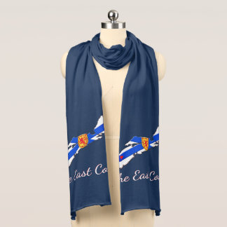 Love The East Coast Nova Scotia scarf