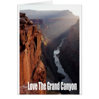 Love The Grand Canyon Card