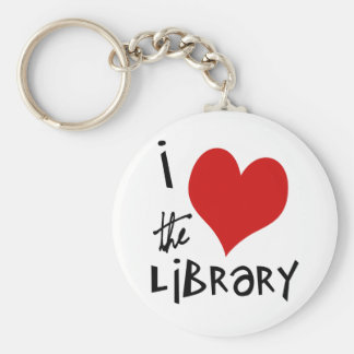 Love the Library Keychain