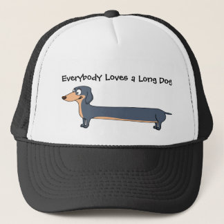 Love the Long Dog - Dachshund Trucker Hat
