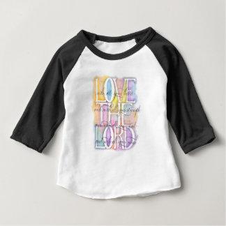 Love The Lord-Luke 10:27 baby Baby T-Shirt