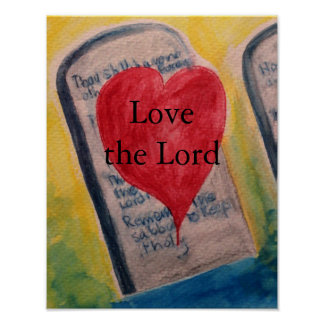 Love The Lord Poster