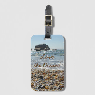 Love the Ocean Luggage Tag