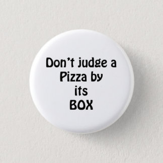 love the pizza 1 inch round button