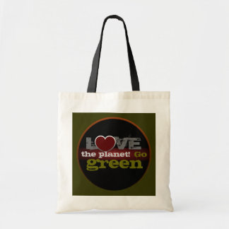 Love the Planet Go Green Bag