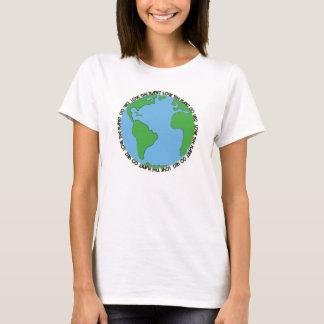Love the planet Go veg T-Shirt