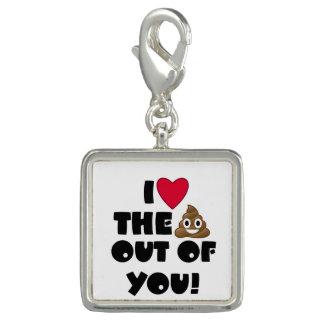 Love The Poop Emoji Charms