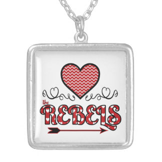 Love the Rebels Necklace (Square)
