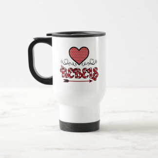 Love the Rebels Personalized Mug