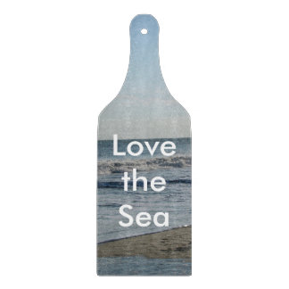 Love the Sea Beach Sand Cutting Board