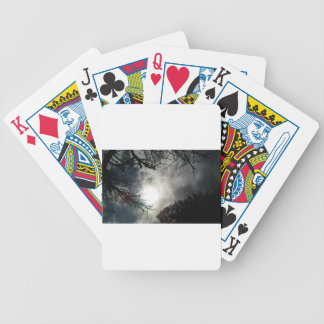 Love the sky bicycle playing cards